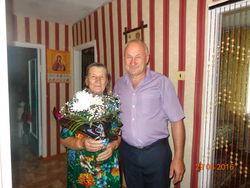 85-летний юбилей отметила вдова участника Великой Отечественной войны – Ананьина Екатерина Кузьминична.
