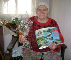 85-летний юбилей Воеводиной Ираиде Матвеевне