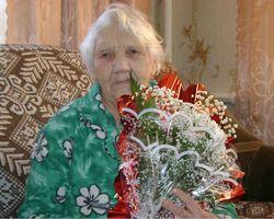85-летний юбилей Глотовой Екатерины Григорьевны