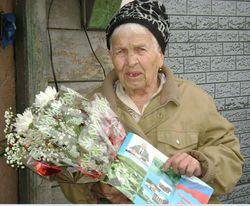 85-летний юбилей Лупачёвой Анны Григорьевны