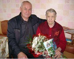 85-летний юбилей Хижинской Нины Дмитриевны
