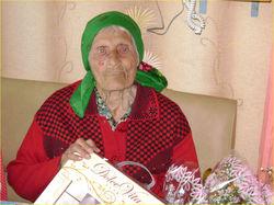 90 - летний юбилей Лаврентьевой Анны Фёдоровны