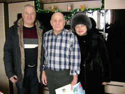 70 - летний юбилей участника событий на острове Даманский Левченко Владимира Николаевича!