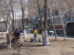 Родной Черниговке чистые улицы-чистые дворы