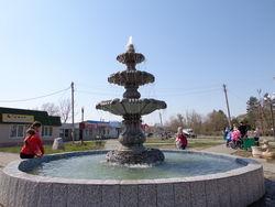 Открытие сезона фонтанов